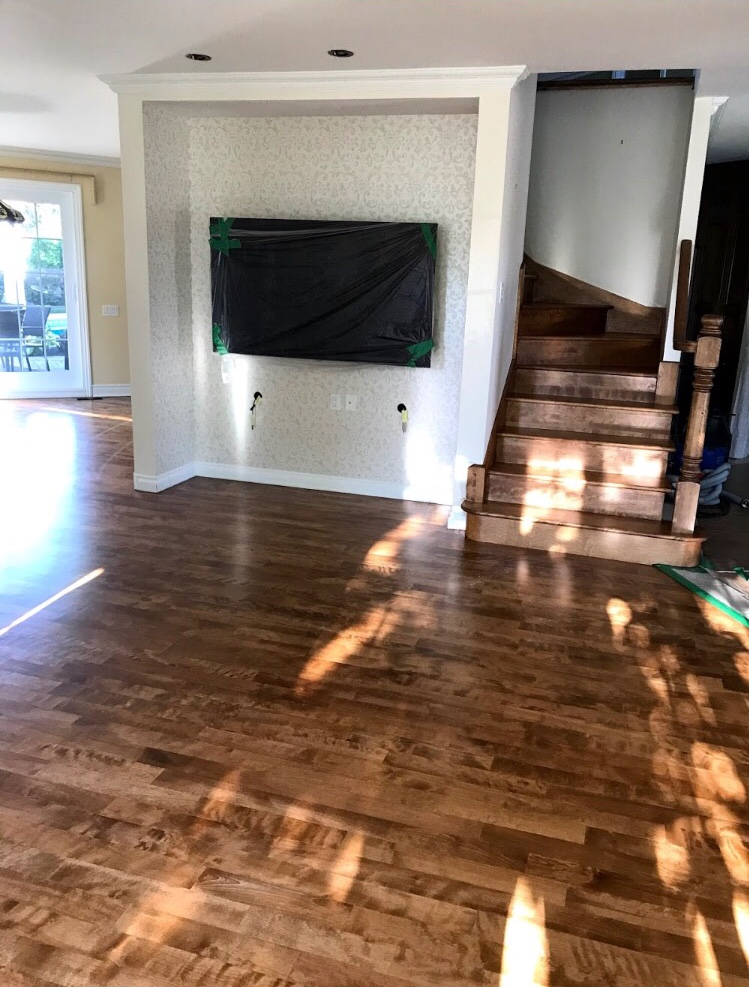 After Wood Flooring
