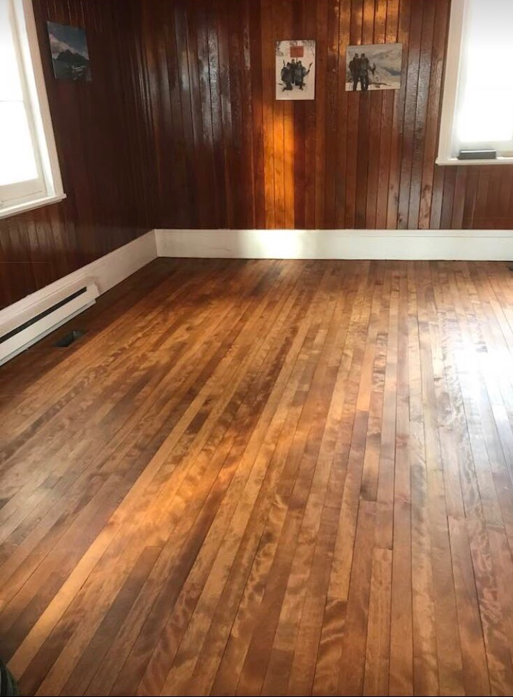 Finished Wood Floor