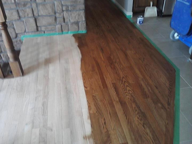 Partially Finished Flooring