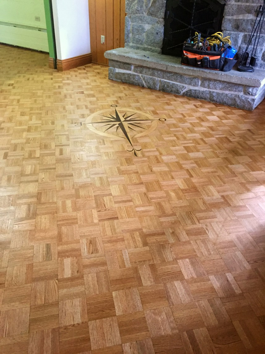 Completed Flooring
